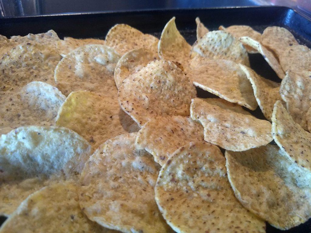 nacho chip layout